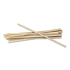 "Wood Coffee Stirrers, 5 1/2"" Long, Woodgrain, 1000"