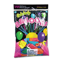 Helium Quality Latex Balloons, 12 Assorted Colors,