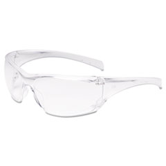 Virtua Ap Protective Eyewear, Clear Frame And Lens,