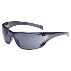 Virtua Ap Protective Eyewear, Clear Frame And Gray Lens,