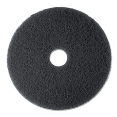 "High Productivity Floor Pad 7300, 13"" Diameter, Black,"