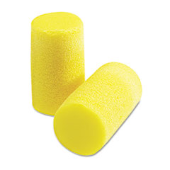 E A R Classic Plus Earplugs, Pvc Foam, Yellow, 200 Pairs