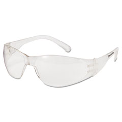 Checklite Safety Glasses, Clear Frame, Clear Lens
