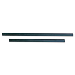 "Ergotec Replacement Squeegee Blades, 12"" Wide, Black"
