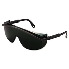 Astrospec 3000 Safety Glasses, Black Frame, Shade