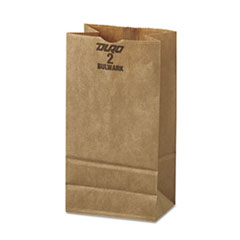 #2 Paper Grocery, 52lb Kraft, Extra-Heavy-Duty 4 5/16x2