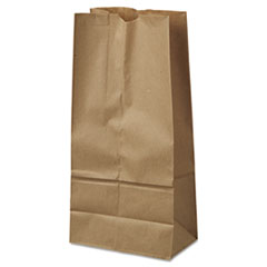 #16 Paper Grocery Bag, 40lb Kraft, Standard 7 3/4 X 4