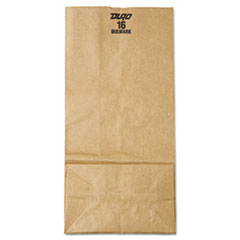 #16 Paper Grocery Bag, 57lb Kraft, Extra-Heavy-Duty 7 3/4