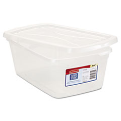Clever Store Snap-Lid Container, 8 1/2 X 13 3/8 X 4