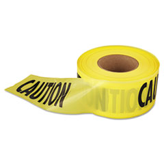 "1,000 Ft. X 3 In. ""caution"" Barricade Tape (yellow)"