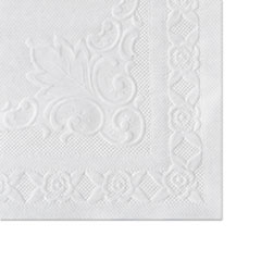 Classic Embossed Straight Edge Placemats, 10 X 14,