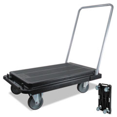 Heavy-Duty Platform Cart, 300lb Capacity, 21w X 32 1/2d