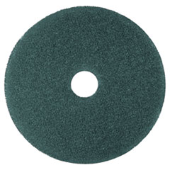 "Cleaner Floor Pad 5300, 12"" Diameter, Blue, 5/carton"