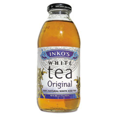Ready-To-Drink Original White Tea With Ginger, 16oz Bottle,