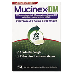Dm Max Strength Expectorant And Cough Suppressant, 14