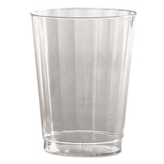 Classic Crystal Plastic Tumblers, 10 Oz., Clear,
