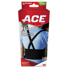 Work Belt With Removable Suspenders, One Size