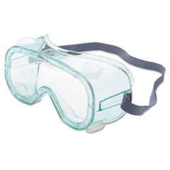 A610s Safety Goggles, Indirect Vent, Green-Tint