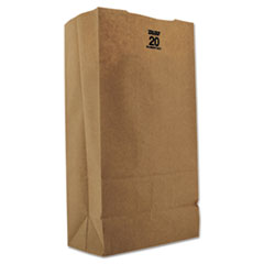 #20 Paper Grocery, 57lb Kraft, Extra Heavy-Duty 8