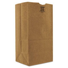 #25 Paper Grocery, 57lb Kraft, Extra Heavy-Duty 8