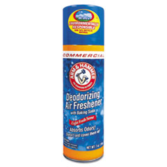 Baking Soda Air Freshener, Aerosol, Light Fresh Scent,