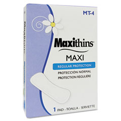 Maxithins Sanitary Napkins #4, 250 Individually Boxed