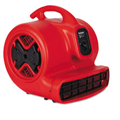Commercial Three-Speed Air Mover, 1/2 Hp Motor, 20 Lbs,