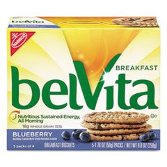 Belvita Breakfast Biscuits, Blueberry, 1.76 Oz Pack,