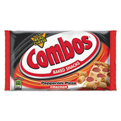 Combos Baked Snacks, 6.3 Oz Bag, Pepperoni Pizza Cracker,
