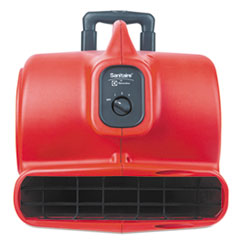 Commercial Three-Speed Air Mover With Built-On Dolly, 5