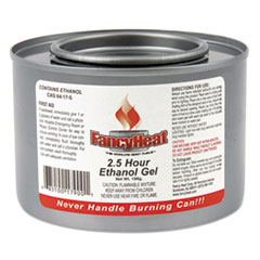 Ethanol Gel Chafing Fuel Can, 2-1/2 Hour Burn, 7 Oz