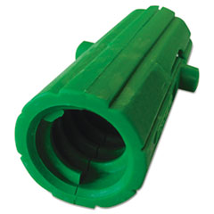 Aquadozer Squeegee Acme Threaded Insert, Nylon, Green