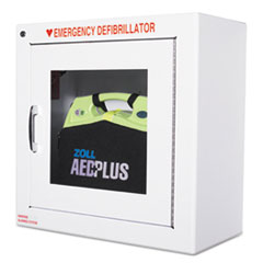 Aed Wall Cabinet, 17w X 9 1/2d X 17h, White