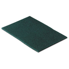 Commercial Scouring Pad, 6 X 9, 10/pack