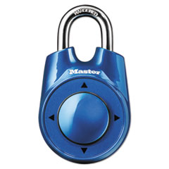 "Speed Dial Set-Your-Own Combination Lock, 2"" Wide,"