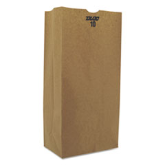 #10 Paper Grocery, 57lb Kraft, Extra-Heavy-Duty 6