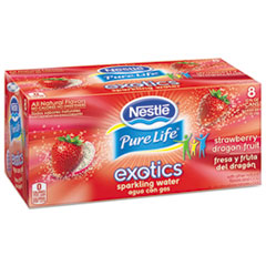 Pure Life Exotics Sparkling Water, Strawberry
