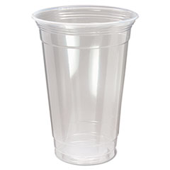 Nexclear Polypropylene Drink Cups, 20 Oz, Clear,