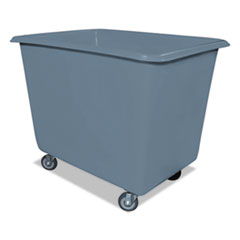 6 Bushel Poly Truck W/galvanized Steel Base, 24 X