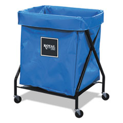 8 Bushel X-Frame Cart With Vinyl Bag, 21 X 26 X 36, 150