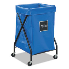 6 Bushel X-Frame Cart With Vinyl Bag, 20 X 22 X 36, 150