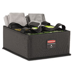 Executive Quick Cart Caddy, Large, Dark Gray
