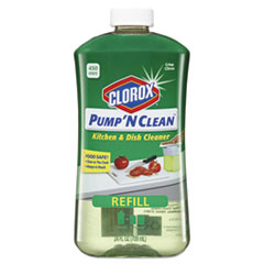 Pump 'n Clean Kitchen & Dish Cleaner Refill, Crisp Citrus,