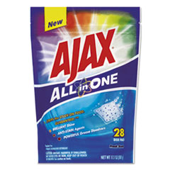 All In One Automatic Dish Detergent Pacs, Fresh Scent,