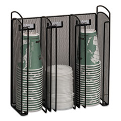 Onyx Breakroom Organizers, 3compartments,