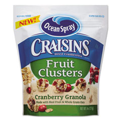 Craisins Fruit Clusters, Cranberry Granola, 8 Oz Bag,