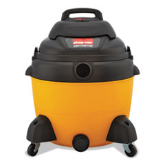 Economy Wet/dry Vacuum, 16 Gal, 120 V, Yellow/black