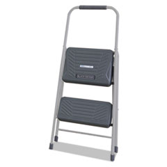 Black And Decker Steel Step Stool, Two-Step, 200 Lb Cap,