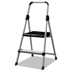 Aluminum Step Stool Ladder, 225 Lb Capacity, 18 1/2w X 23
