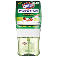 Pump 'n Clean Kitchen & Dish Cleaner, Crisp Citrus, 12 Oz